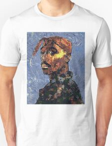 Tupac by vanGogh - www.art-customized.com T-Shirt