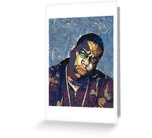Biggie by vanGogh Greeting Card