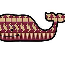 FSU Vineyard Vines Whale by bradypentaa
