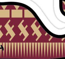 FSU Vineyard Vines Whale Sticker