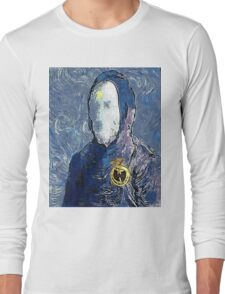 Wu man by vanGogh - www.art-customized.com Long Sleeve T-Shirt