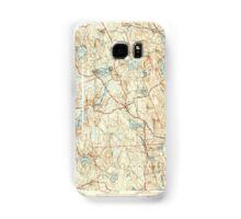 Massachusetts  USGS Historical Topo Map MA Paxton 352047 1941 31680 Samsung Galaxy Case/Skin