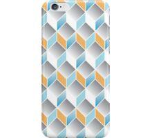cubic pattern - geometric 3d design -seamless iPhone Case/Skin