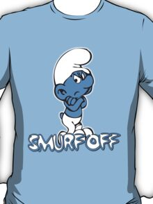 Really Grouchy Smurf T-Shirt