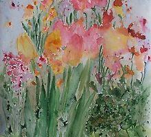 flowers by Viktoria Krasyukova