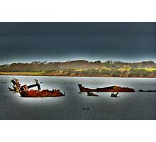 Fleetwood Wrecks . Photographic Print
