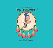 Against Illegal Immigration? Great!  I'll help YOU pack! by Kricket-Kountry
