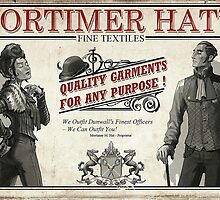 Mortimer Hat's Fine Textiles Poster by Will Blundell