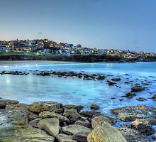 Bronte rockpool by Mike Orchard