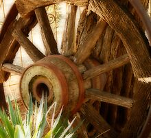 """Old Wagon Wheel""  (South Africa) by Qnita"