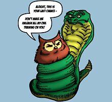 Owl Vs Snake Unisex T-Shirt