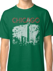 Vintage Chicago Tower Skyline Classic T-Shirt