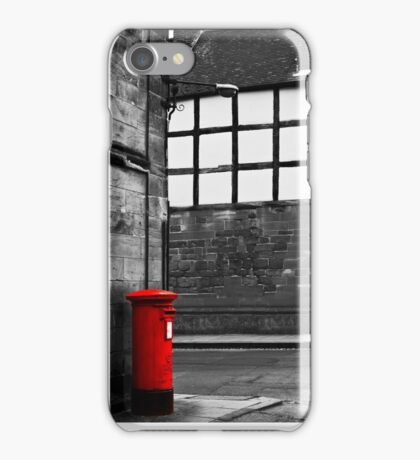 Past Buildings Modern Post Box iPhone Case/Skin