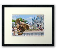 Did you ever see an elephant fly? Framed Print