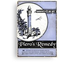 Piero's Remedy Dishonored Poster Canvas Print