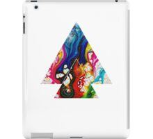 Abstract Geometry: Swirling Psychedelia (Colorful) iPad Case/Skin