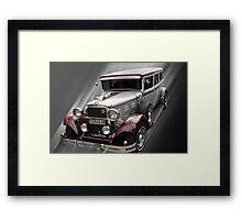 Dodge Limo Framed Print