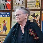 Woman at Montmartre by joewdwd