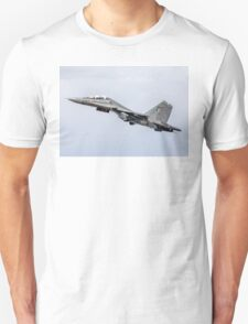 "Sukhoi Su-30MKI ""Flanker-F"" SB167 getting airborne T-Shirt"
