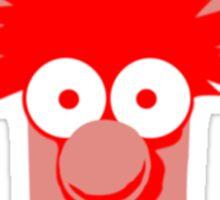 Muppets beaker disney geek funny nerd Sticker