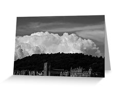 Clouds Over Oban Greeting Card