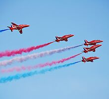 The Red Arrows, Hastings by David Fowler