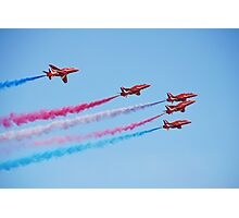 The Red Arrows, Hastings Photographic Print