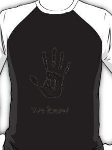 Skyrim The Dark Brotherhood Letter T-Shirt