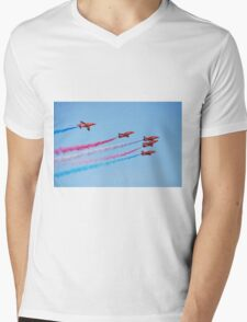 The Red Arrows, Hastings Mens V-Neck T-Shirt