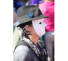 Faceless Photographic Print