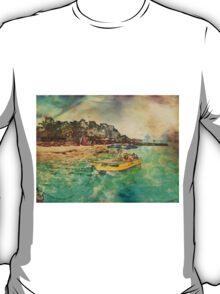 View from Avalon Bridge Isla Mujeres T-Shirt
