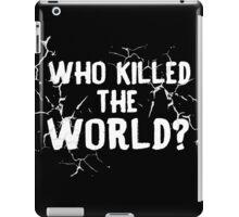 The World is Dead iPad Case/Skin