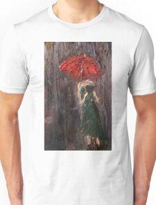 Pink Umbrella  Unisex T-Shirt