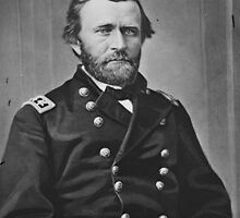 Portrait of Civil War General Ulysses S. Grant by allhistory