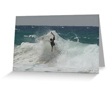 Surfing shelly beach ll Greeting Card