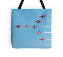 The Red Arrows team Tote Bag