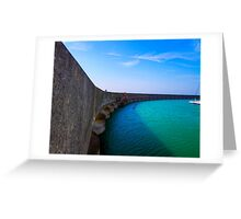 The Vanishing Marina - Brighton - England Greeting Card
