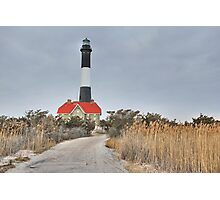 Fire Island Light House Photographic Print
