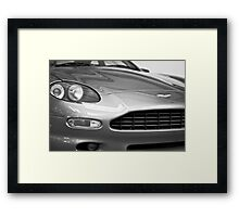 Aston Martin DB7 Concept Car Framed Print