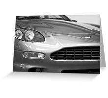 Aston Martin DB7 Concept Car Greeting Card