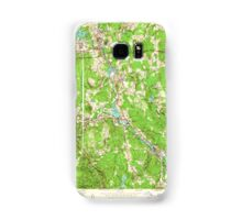 Massachusetts  USGS Historical Topo Map MA Grafton 350166 1953 24000 Samsung Galaxy Case/Skin