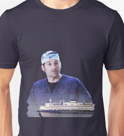 Derek Shepherd ferries Unisex T-Shirt