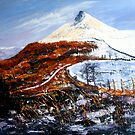Ice and Fire, Roseberry Topping  by Sue Nichol