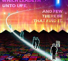 MATTHEW 7:14 - NARROW IS THE WAY by Calgacus