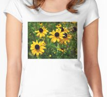 Brown Eyed Susan Women's Fitted Scoop T-Shirt