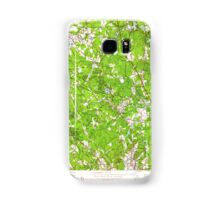 Massachusetts  USGS Historical Topo Map MA Wilmington 350755 1950 24000 Samsung Galaxy Case/Skin