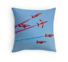 Red Arrows aerobatic team Throw Pillow