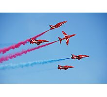 Red Arrows aerobatic team Photographic Print