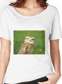 Little Owl Women's Relaxed Fit T-Shirt