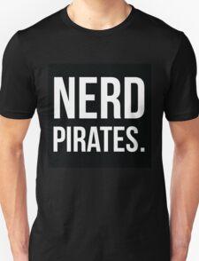 Nerd Pirates Logo - Minimalist Geek Chic Unisex T-Shirt